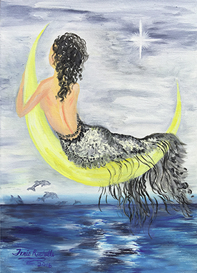 Mermaid on the Moon